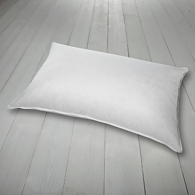 John Lewis Hungarian Goose Down Standard Pillow, Medium/Firm