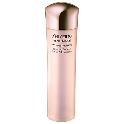 Buy Shiseido Benefiance WrinkleResist24 Balancing Softener, 150ml Online at johnlewis.com