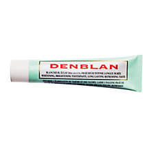 Buy Darphin Denblan Whitening Toothpaste, 75ml Online at johnlewis.com