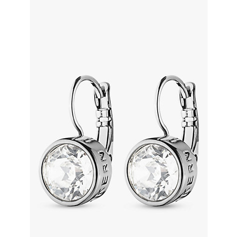Buy Dyrberg/Kern Louise Crystal French Hook Drop Earrings Online at johnlewis.com