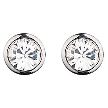 Buy Dyrberg/Kern Thelma Small Swarovski Crystal Stud Earrings Online at johnlewis.com
