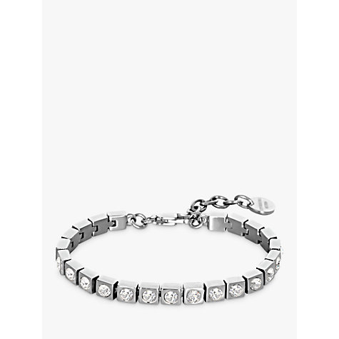Buy Dyrberg/Kern Swarovski Crystal Tennis Bracelet Online at johnlewis.com