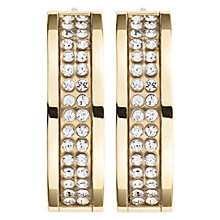 Buy Dyrberg/Kern Hennie Gold Swarovski Crystal Earrings Online at johnlewis.com