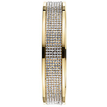 Buy Dyrberg/Kern Mabel Gold Crystal Bangle Online at johnlewis.com