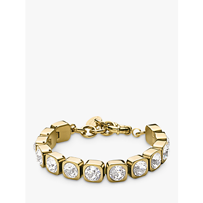 Dyrberg/Kern Conian Gold Single Crystal Bracelet