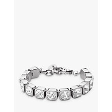 Buy Dyrberg/Kern Conian Swarovski Crystal Silver Tennis Bracelet Online at johnlewis.com