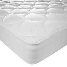 Buy John Lewis Velour Plush Mattress Cover Online at johnlewis.com