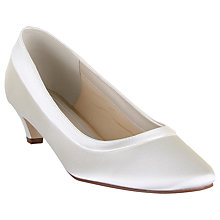 Buy Rainbow Club Bea Court Shoes, Ivory Online at johnlewis.com