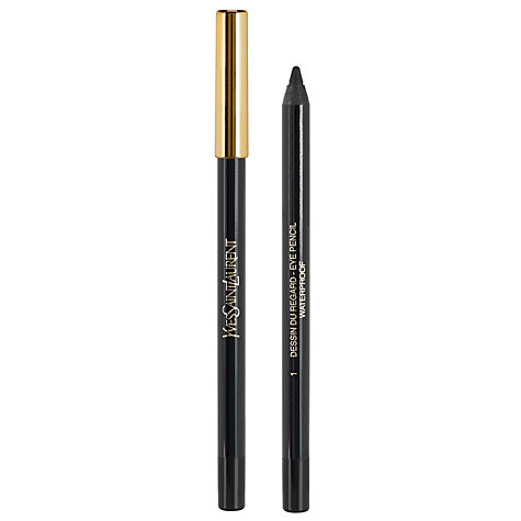Buy Yves Saint Laurent Dessin Du Regard Waterproof Long-Wear Eye Pencil Online at johnlewis.com