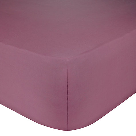 Buy little home at John Lewis Single Fitted Sheet Online at johnlewis.com