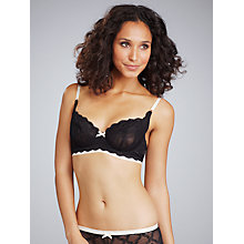Buy Elle Macpherson Intimates Cloud Swing Underwired Bra, Black Online at johnlewis.com
