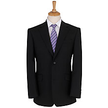 Buy Daniel Hechter Plain Organic Wool Suit, Black Online at johnlewis.com