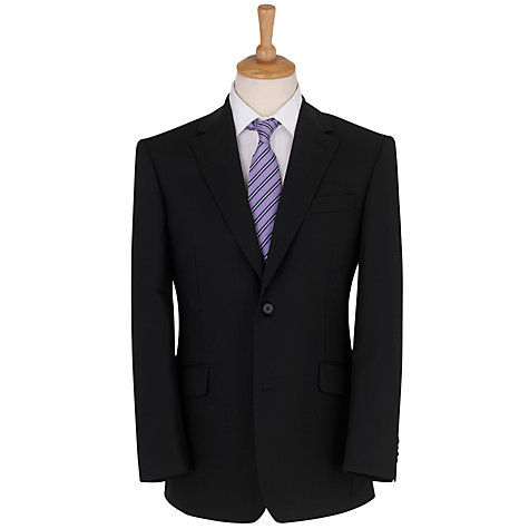 Buy Daniel Hechter Plain Organic Wool Jacket, Black Online at johnlewis.com