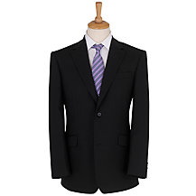 Daniel Hechter Plain Organic Wool Suit, Black