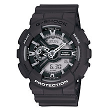 Buy Casio GA-110C-1AER Men's G-Shock Velocity Resin Strap Watch Online at johnlewis.com