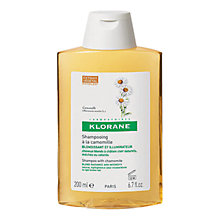 Buy Klorane Camomile Shampoo for Blonde Highlights, 200ml Online at johnlewis.com