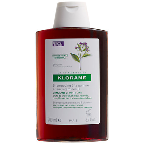 Buy Klorane Quinine Shampoo for Thinning Hair, 200ml Online at johnlewis.com