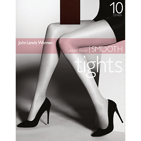 Buy John Lewis Ladder Resist Smooth Tights Online at johnlewis.com