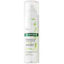 Buy Klorane Oat Milk Dry Shampoo for Frequent Use, 150ml Online at johnlewis.com