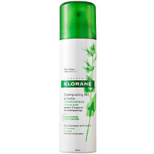 Buy Klorane Nettle Sebo-Regulating Dry Shampoo for Oily Hair, 150ml Online at johnlewis.com