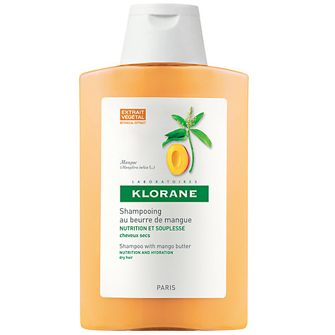 Buy Klorane Mango Butter Nourishing Treatment Shampoo for Dry Hair, 200ml Online at johnlewis.com
