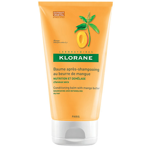 Buy Klorane Mango Butter Conditioning Balm for Dry Hair, 150ml Online at johnlewis.com