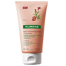 Buy Klorane Pomegranate Conditioning Cream for Coloured Hair, 150ml Online at johnlewis.com