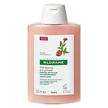 Buy Klorane Pomegranate Shampoo for Coloured Hair, 200ml Online at johnlewis.com