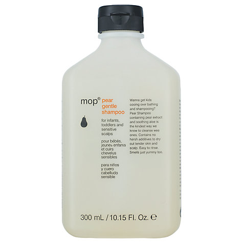 Buy mop® Pear Shampoo, 300ml Online at johnlewis.com