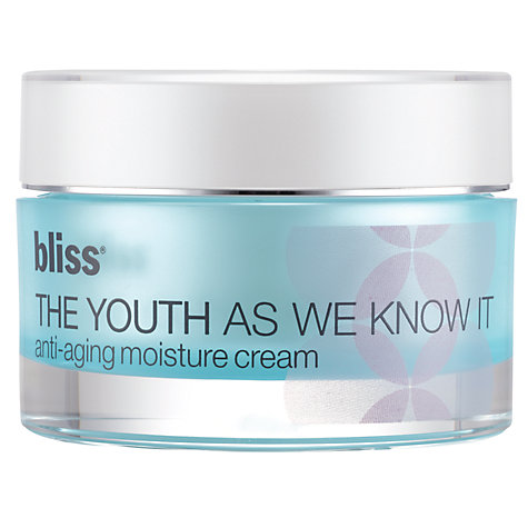 Buy Bliss® The Youth As We Know It Anti-Aging Moisture Cream, 50ml Online at johnlewis.com