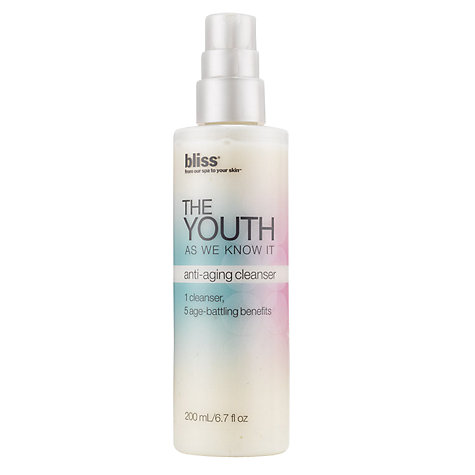 Buy Bliss® The Youth As We Know It Anti-Aging Cleanser, 200ml Online at johnlewis.com