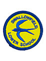 Swallowfield Lower School Unisex Badge, Yellow/Blue