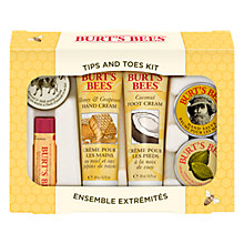 Buy Burt's Bees Tips And Toes Skincare Starter Kit Online at johnlewis.com