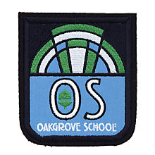 Buy Oakgrove School Unisex Blazer Badge, Blue Multi Online at johnlewis.com