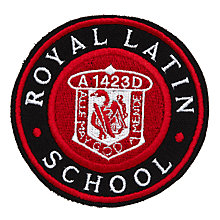 Buy Royal Latin School Unisex Blazer Badge, Red Multi Online at johnlewis.com