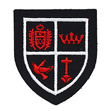 Buy St Mary's RC Primary School Clapham Unisex Cap and Hat Badge, Black/Red Online at johnlewis.com