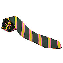 Buy Parkfields Middle School Boys' Tie, Green Multi Online at johnlewis.com