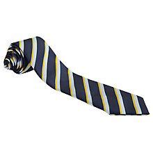 Buy The Village School Tie, Navy Multi Online at johnlewis.com