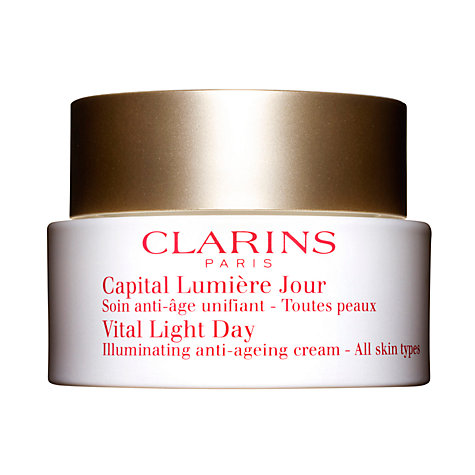 Buy Clarins Vital Light Day Illuminating Anti-Ageing Cream, 50ml Online at johnlewis.com