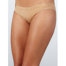 Buy Calvin Klein Naked Glamour Tailored Briefs, Nude Online at johnlewis.com