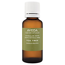 Buy AVEDA Singular Notes Tea Tree Oil, 30ml Online at johnlewis.com