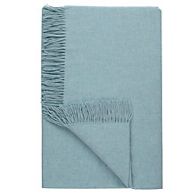 Buy John Lewis Plain Wool Throw Online at johnlewis.com