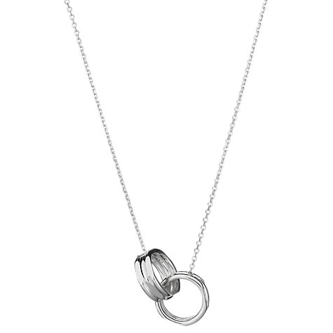 Buy Links of London 20/20 Interlocking Necklace Online at johnlewis.com