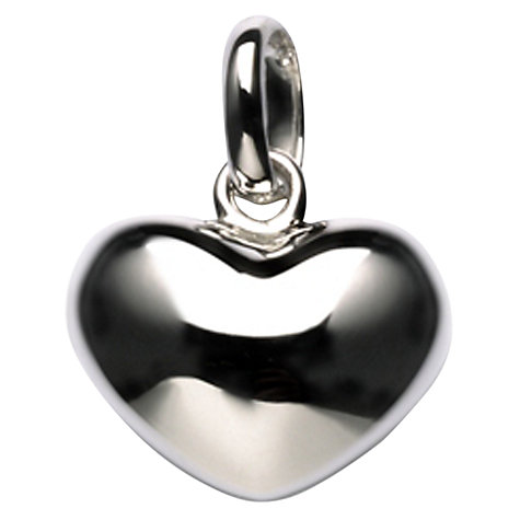 Buy Links of London Silver Heart Charm Online at johnlewis.com