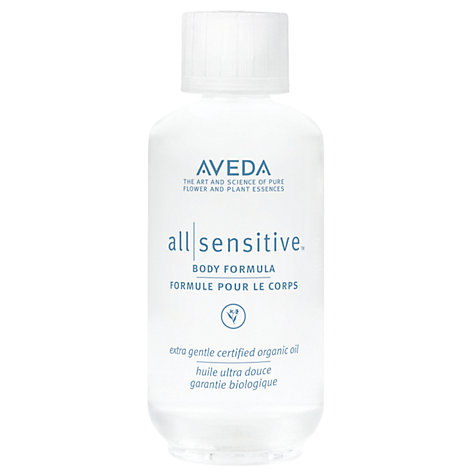 Buy AVEDA All Sensitive™ Body Formula, 50ml Online at johnlewis.com
