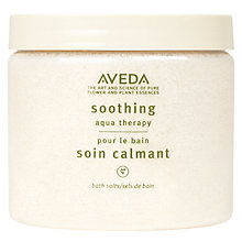 Buy AVEDA Soothing Aqua Therapy, 400g Online at johnlewis.com