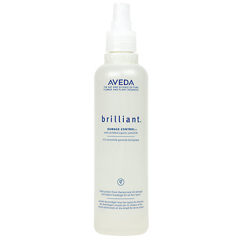 Buy AVEDA Brilliant™ Damage Control™, 250ml Online at johnlewis.com