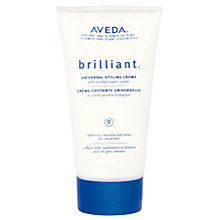 Buy AVEDA Brilliant™ Universal Styling Creme, 150ml Online at johnlewis.com