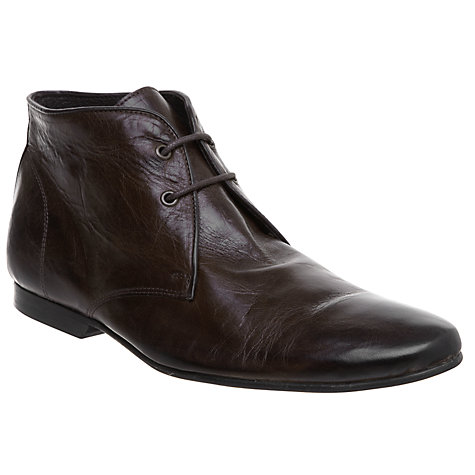 Buy Dune Cable Leather Lace Up Boots Online at johnlewis.com