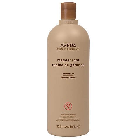 Buy AVEDA Color Enhance Madder Root Shampoo, 1000ml Online at johnlewis.com